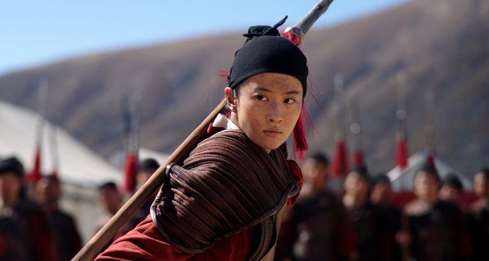 Yifei Liu in 'Mulan'