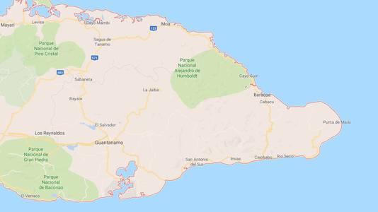 De bus crashte op een weg tussen de plaatsen Baracoa en Guantanamo.