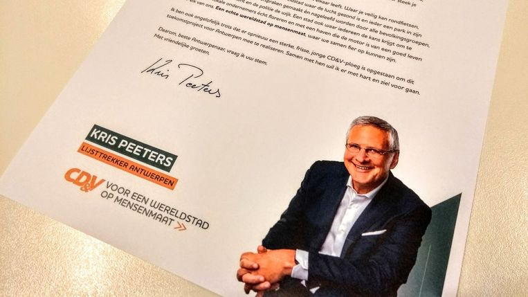 De open brief van Kris Peeters