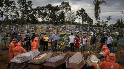 Meer dan 48.000 nieuwe coronagevallen in Brazilië