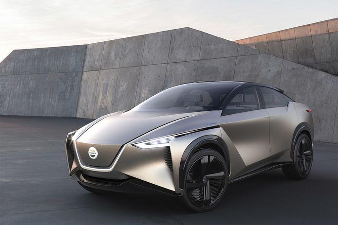 De Nissan IMx Kuro denkt met de bestuurder mee, dankzij het B2V-systeem.