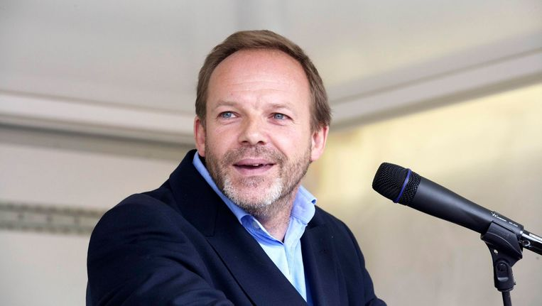 De niet-benoemde burgemeester van Linkebeek Damien Thiéry (FDF).