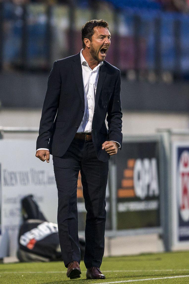 Peter van den Berg, trainer RKC. Beeld Toin Damen