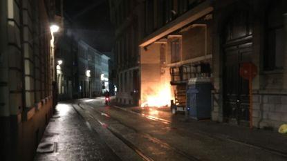 Parket zoekt stichter van brand achter Fnac