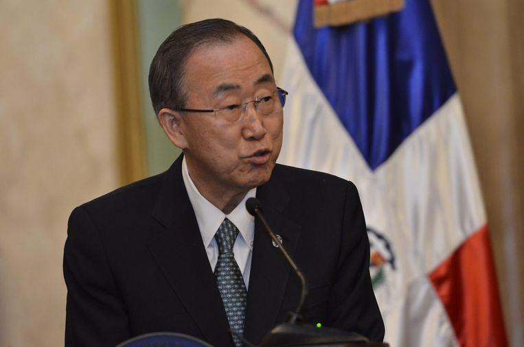 VN-secretaris-generaal Ban Ki-moon.