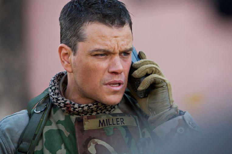 Matt Damon in Green Zone. Beeld