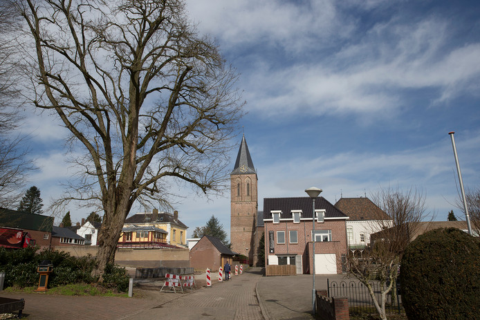De Kerkweg in Zeddam. Foto Theo Kock