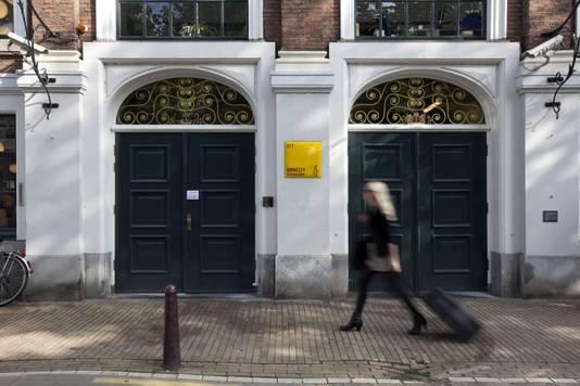 Het kantoor van Amnesty International.