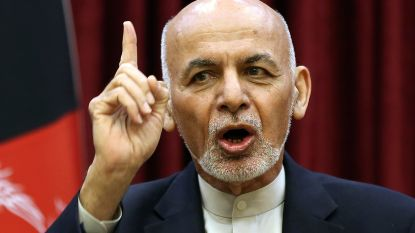 Rivalen Ghani en Adullah allebei ingezworen als president van Afghanistan
