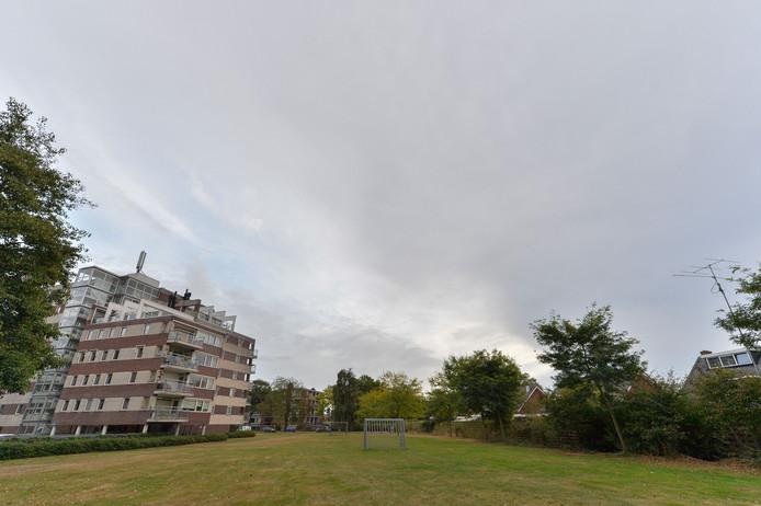 Locatie van de verkrachting in 1996 in de buurt van de Goeman Borgesiusstraat in Apeldoorn.