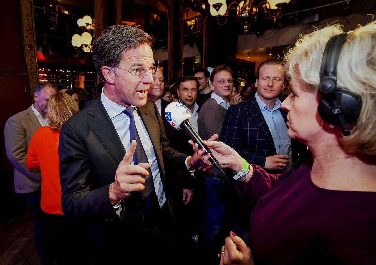 Premier Mark Rutte (VVD).