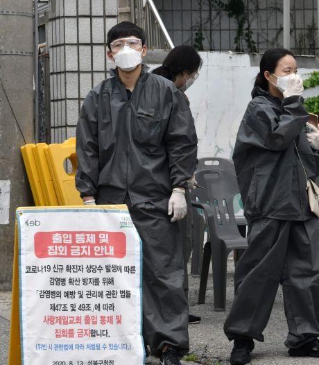 Des milliers de membres d'une église placés en quarantaine en Corée du Sud