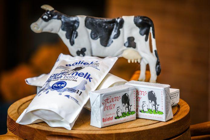 De karnemelk en hoeveboter van Baliehof zijn erkende streekproducten.