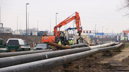 Schrik niet: vreemd sissend geluid is afkomstig van nieuwe gasleiding