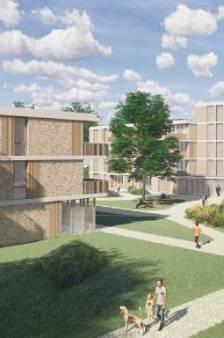 Eindelijk weer eens een nieuwbouwproject met veel sociale huurwoningen