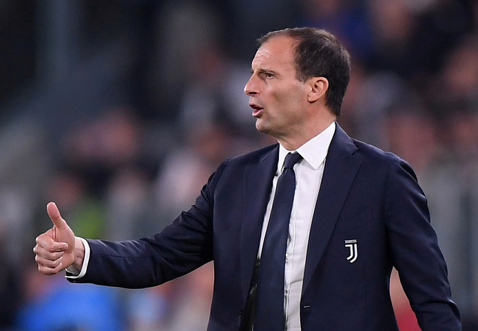 Juventus-coach Massimiliano Allegri.