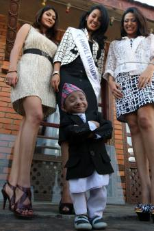 's Werelds kortste mobiele man (27) overleden