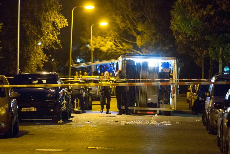Onderzoek naar de moord op Vincent Jalink. Beeld ANP