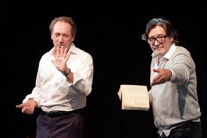 Gijs Scholten van Aschat en Pierre Bokma stonden half oktober als eersten op het podium in het Nieuwe Dijkhuis.
