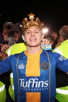 'Joker' Jason Cummings de held van Shrewsbury Town tegen Liverpool
