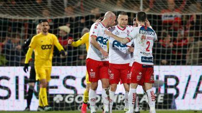 Kortrijk smeert slap Standard nederlaag aan, vier goals vallen in dolle twintig minuten