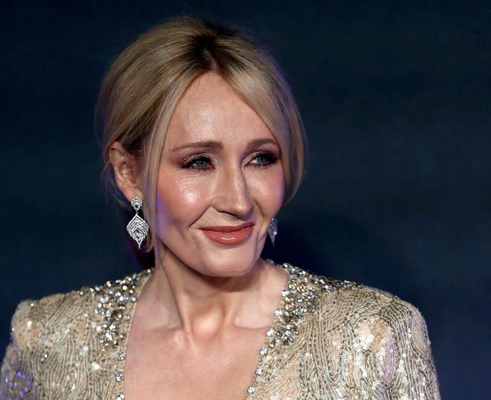 De Britse schrijfster J.K. Rowling