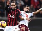 AC Milan heeft in eigen huis Torino niet kunnen verslaan