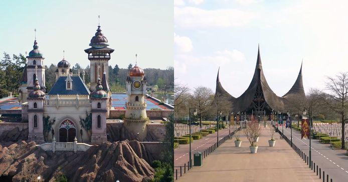 Le parc d'attractions Efteling.