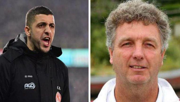 Karim Belhocine en Gino Caen.
