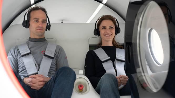 Voor het eerst passagiers mee met hyperloop van Virgin