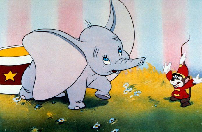 Ook in Dumbo komt 'verouderde culturele presentatie' voor.