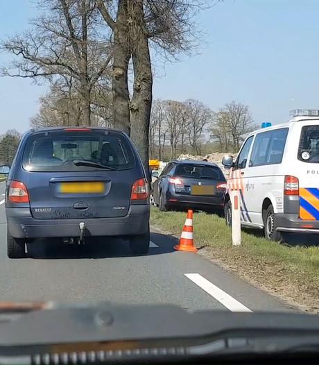 Drie auto's beschadigd door ongeval bij Groenlo