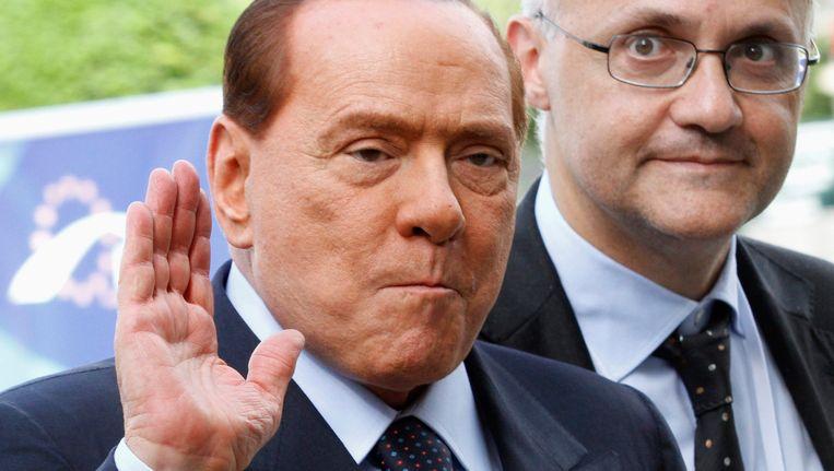 Berlusconi. Beeld REUTERS