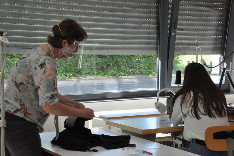 In het Onze-Lieve-Vrouwe instituut in Poperinge kunnen de lessen veilig en vlot verlopen.