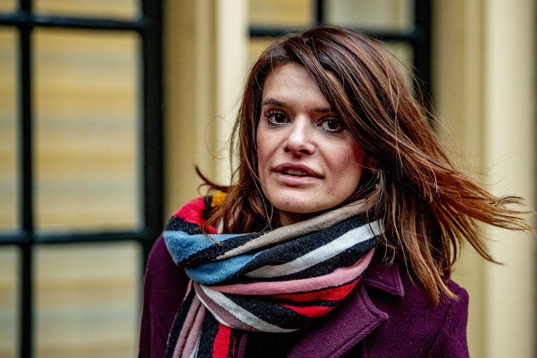 Barbara Visser, staatssecretaris van Defensie.  Beeld ANP - Robin Utrecht