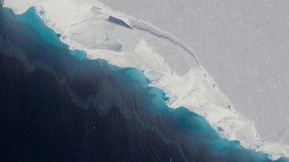 """Gigantische holte ontdekt op Antarctica onder """"gevaarlijkste gletsjer ter wereld"""""""