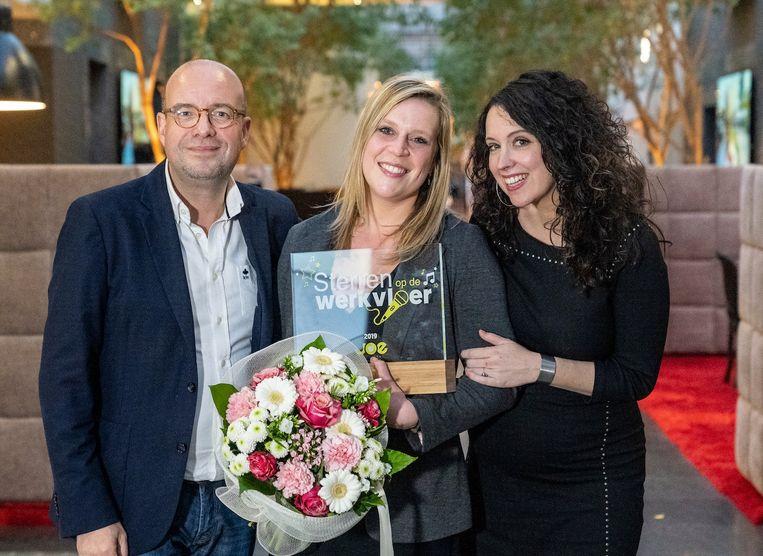 Lynn Van Hoof van Zorgcentrum Sint-Jozef uit Pelt is dé Ster op de Werkvloer bij Joe