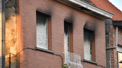 Kindjes uit brandende woning gehaald