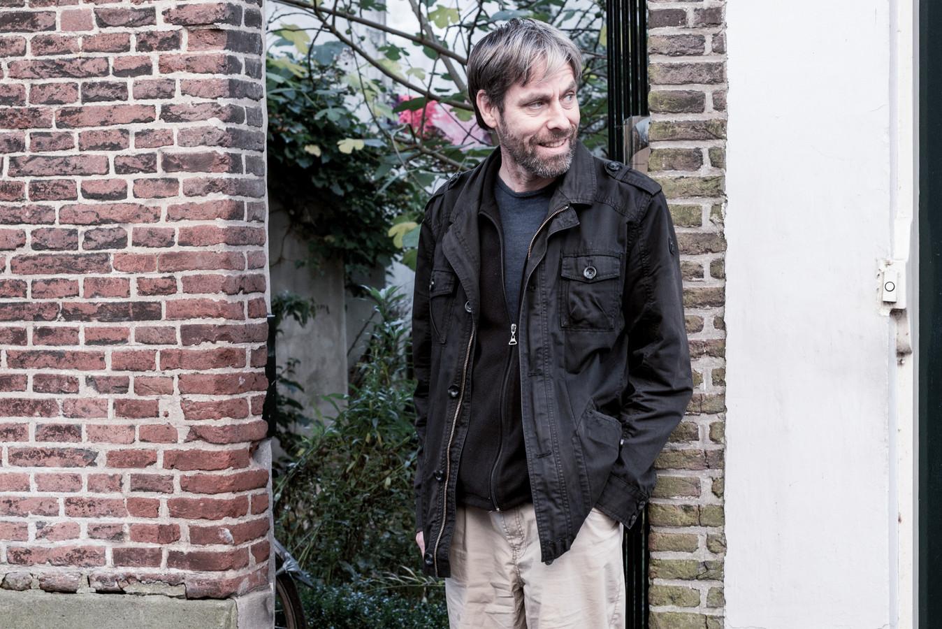 Componist en docent Andries van Rossem.