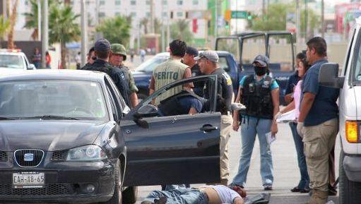 Ciudad Juarez a enregistré 130 meurtres pour 100.000 habitants en 2008.