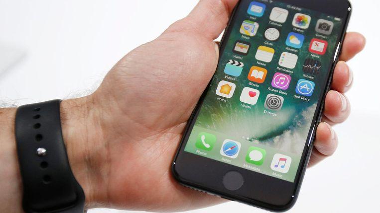 Een iPhone 7.