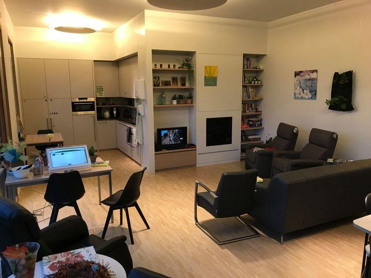 Het KYMA-huis in Dessel, in de Alfons Smet Residenties.