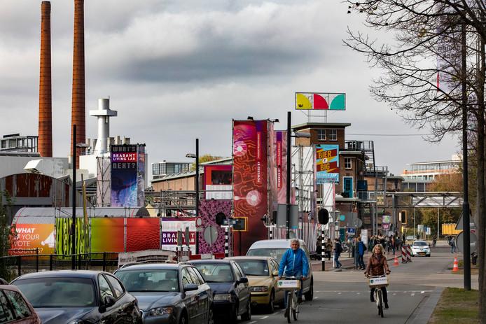 Strijp-S tijdens de Dutch Design Week. Een rijksmuseum voor design kan Eindhoven nog meer op de kaart zetten als designstad.