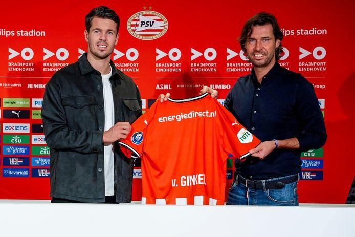 John de Jong (rechts), met Marco van Ginkel.