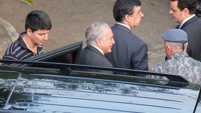 Braziliaanse ex-president Temer wordt vrijgelaten