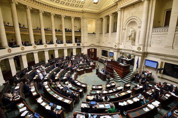 Een plenaire vergadering van de Kamer. Archieffoto.