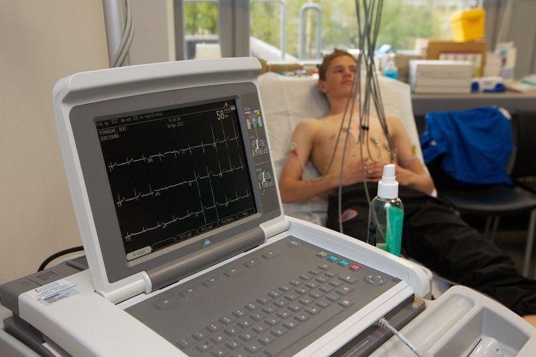 Bezoekers kunnen gratis een hartscreening laten uitvoeren.