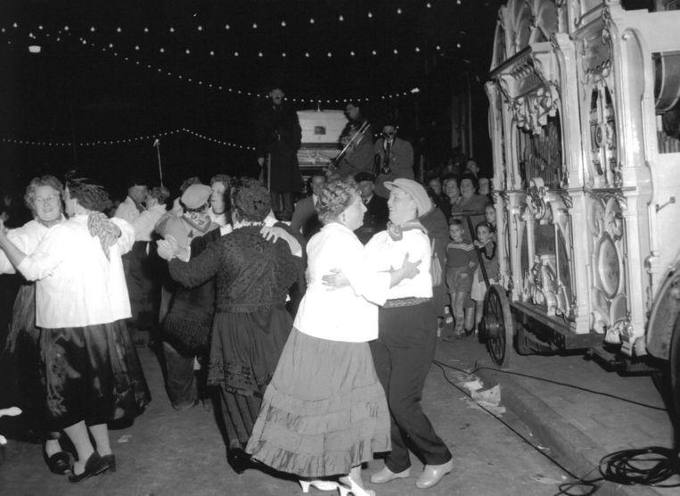 Het Jordaan Festival was in 1956 al aan! Beeld anp