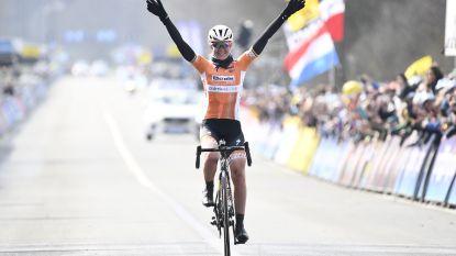 Oranje boven: Nederlandse Van der Breggen soleert naar de zege in Ronde voor vrouwen