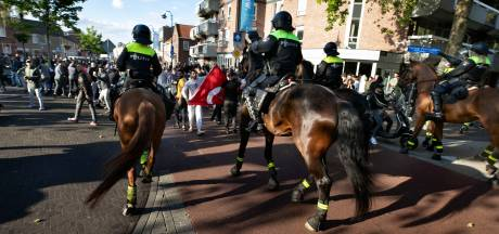 Nog drie relschoppers Pegida-demonstratie in Eindhoven aangehouden